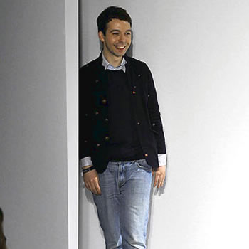 Fashion Designer Charles Anastase